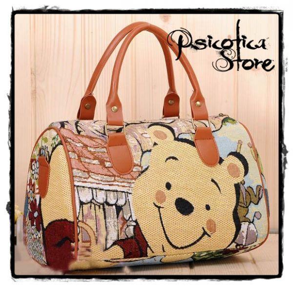 a162e89e0 Bolsa Ursinho Pooh (Mod. II) - Psicótica Store