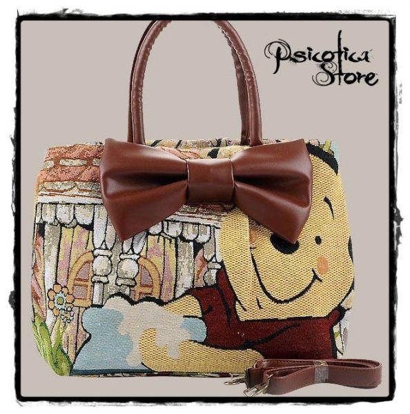0576dec58 Bolsa Ursinho Pooh (Mod. I) - Psicótica Store
